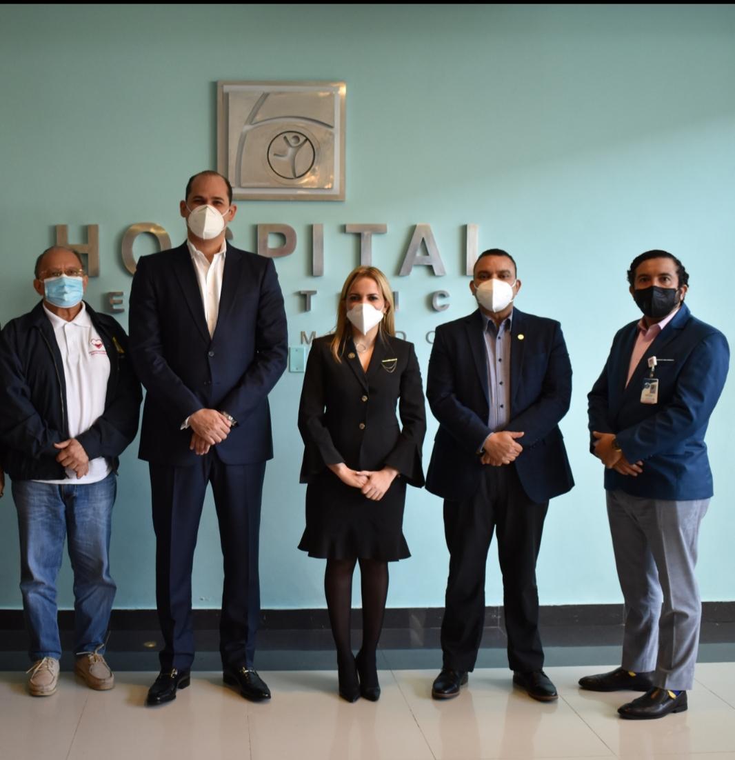 Directores hospitales, Hemocentro Nacional y Promese/Cal crean consejo gestor en Complejo de Salud Evangelina Rodríguez