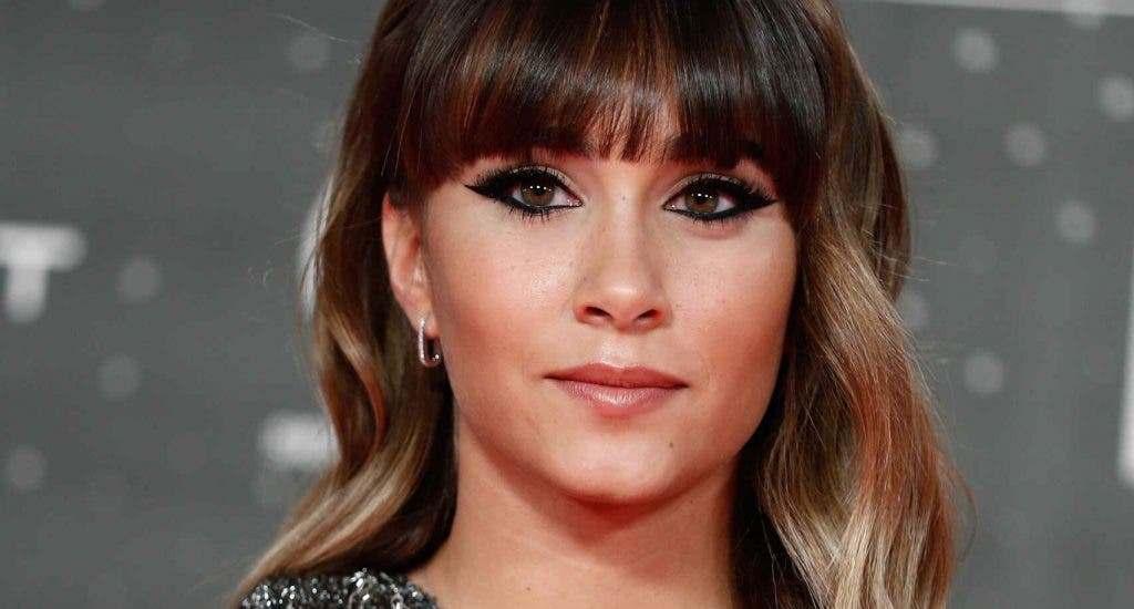 La cantante española Aitana anuncia que ha dado positivo en coronavirus