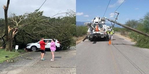 Cientos dominicanos afectados por tormenta azotó área triestatal