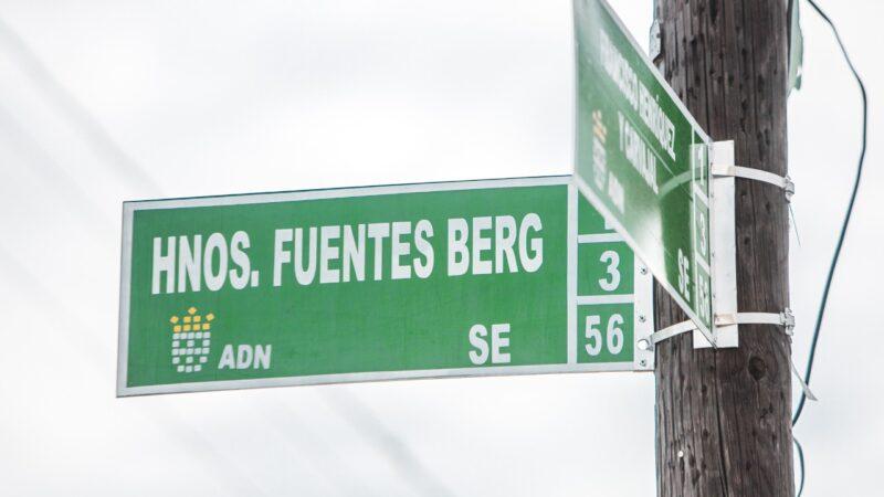 ADN designa una calle con el nombre de los Hermanos Fuentes Berg, que fueron asesinados durante el régimen de Trujillo por revelar fotos de las torturas en Cárcel de La 40