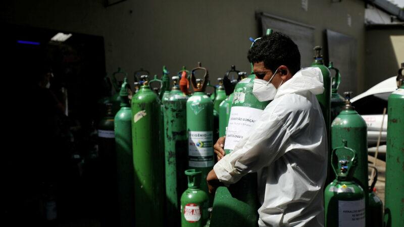 Venezuela envía tercer cargamento de oxígeno a Brasil para pacientes covid-19