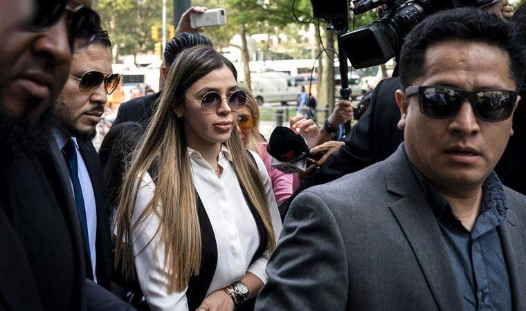 """El motivo que tendrá la esposa del """"Chapo"""", para cooperar con la justicia de EEUU"""