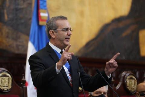 En su discurso de rendición de cuentas el presidente Luis Abinader no se refiere al deporte