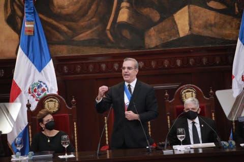 Discurso Rendición de Cuentas – Presidente Luis Abinader