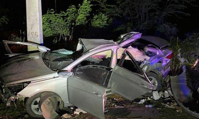Muere menor de ocho años y otras cuatro personas resultan heridas en accidentes de tránsito ocurridos en la Línea Noroeste