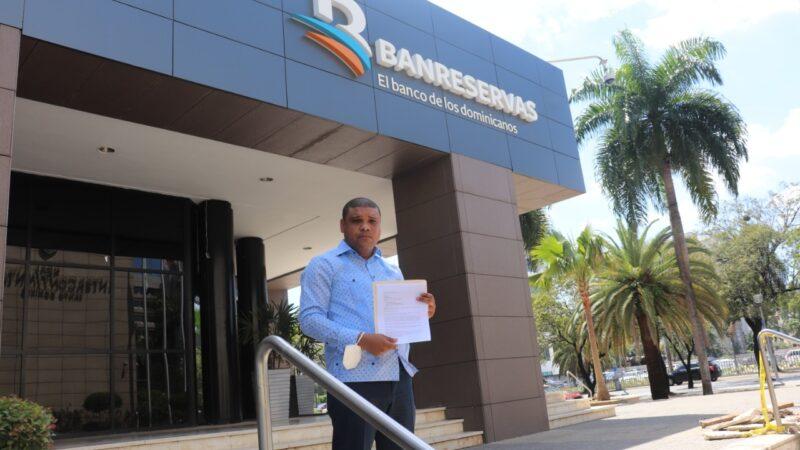 Periodista Ramón Raposo solicita instalación sucursal del Banreservas en Guaricano