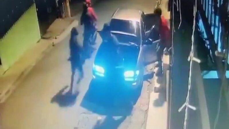 Desconocidos son recibidos a tiros tras intentar asaltar a dos personas
