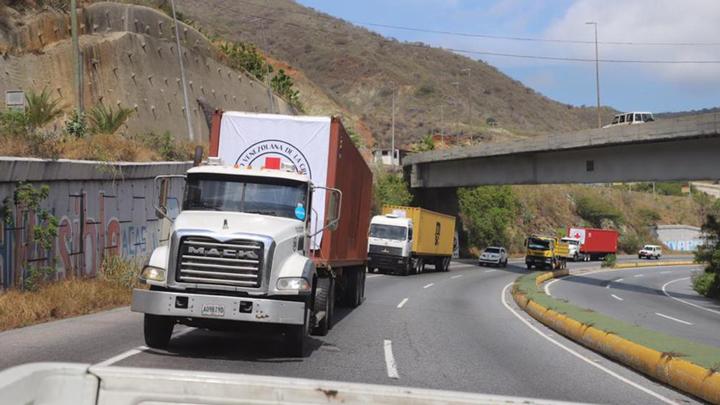 Venezuela recibe un nuevo cargamento con 30 toneladas de ayuda humanitaria a través de la Cruz Roja