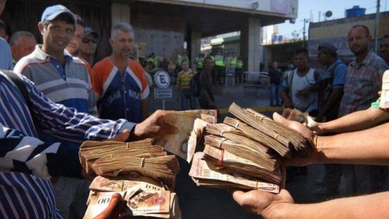 Venezuela lanzó un billete de un millón de bolívares que vale 52 centavos de dólar