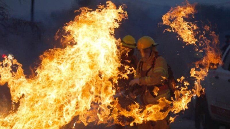 En Montecristi, hombre fallece carbonizado durante incendio