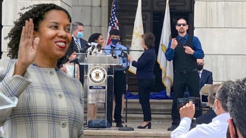 Exconcejala Sabina Matos se juramenta como primera vicegobernadora dominicana en EEUU