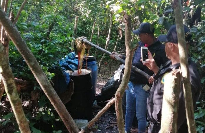 Desmantelan fábrica clandestina de bebidas adulteradas en Monte Plata