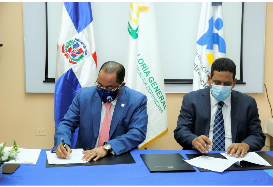 Contraloría y Contrataciones Públicas firman convenio para la interoperabilidad de sus plataformas tecnológicas
