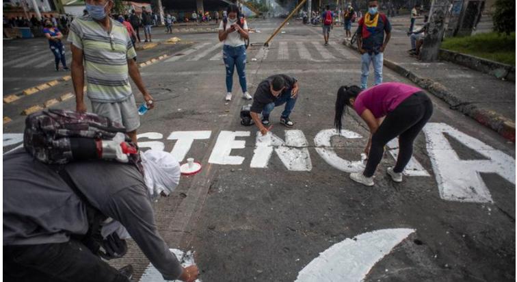 Colombia estalla