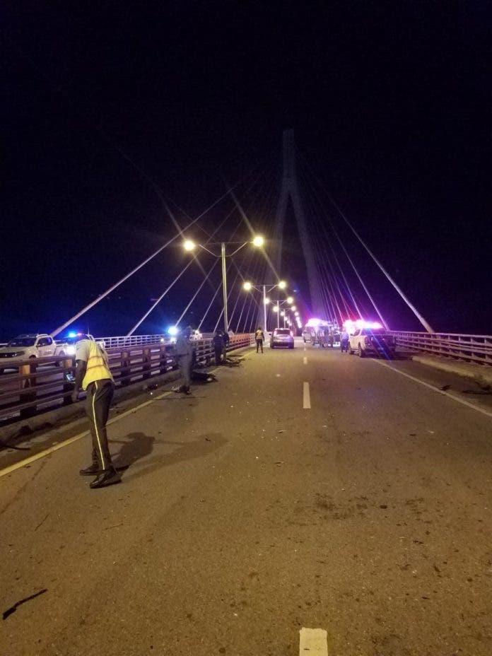 Accidente de tránsito en Autovía del Este deja tres muertos y tres heridos