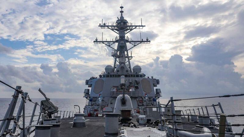 EE.UU. confirma que su buque de guerra entró en el mar de la China Meridional para «desafiar» los reclamos de Pekín sobre las aguas de la zona