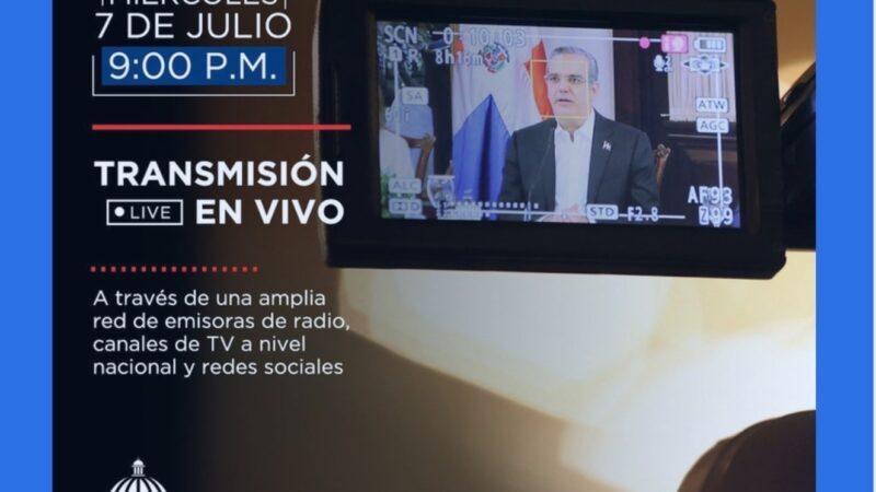 (En vivo) Presidente Abinader presenta plan de flexibilización de las medidas restrictivas por COVID-19
