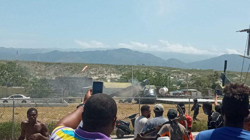 Se precipita helicóptero dominicano en la frontera con Haití
