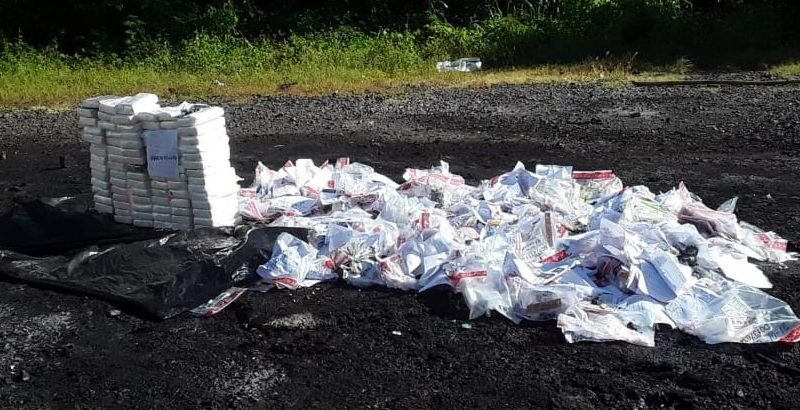La Procuraduría General incinera otros 120 kilogramos de drogas