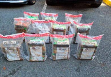 Incautan 83 paquetes de cocaína en Samaná
