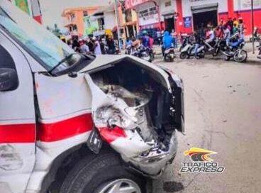 Simulacro deja 7 heridos en San Pedro de Macorís tras accidente
